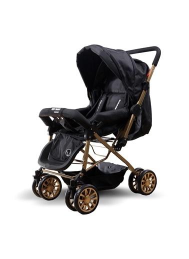 ESY LİNE Esy Line Çift Yönlü Bebek Arabası Gold-Siyah Altın